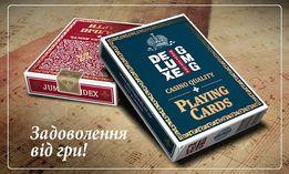 Игральные карты DELUXE GMG. АКЦИЯ. Блок из 6-ти колод за 150 грн.!