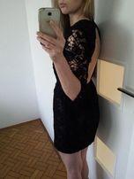 Koronkowa sukienka ASOS rozm.S nowa czarna tanio