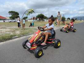 Kiddies Pedal Go Karts For Hire