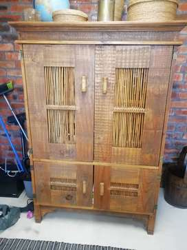 Indonesian Style Antique Cupboard