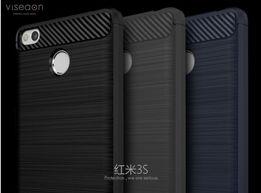 Meizu M6 note Redmi 4x 3s Note 3 4 4x Max Mi5s S7 S8 Чехол под карбон