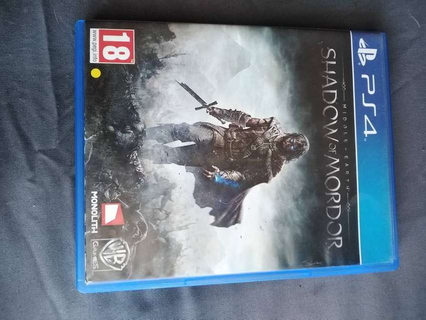 Ps4 Shadow of Mordor Game