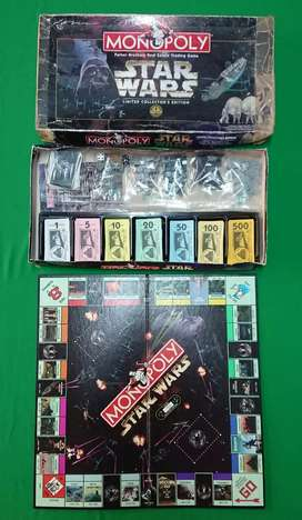 Starwars monopoly Limited edition