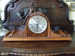 Przepiękny stary bufetowy zegar I poł. XX w.