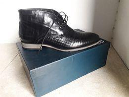 Продам кожаные демисезонные ботинки Braska