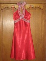 Нарядное платье на праздник сережки в подарок