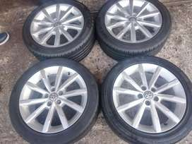 Polo TSI Mage wheels and tyres 16inch now available