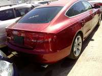 Audi A4 red colour new plate number 0