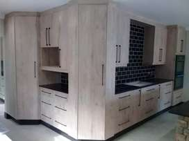 For built in kitchens and wardrobes done professionally