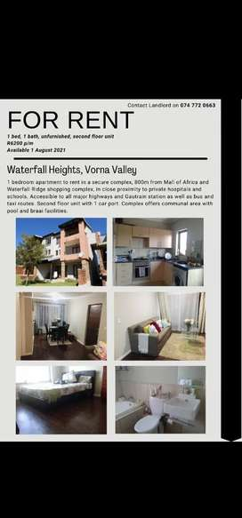 Stunning apartment to rent in Midrand