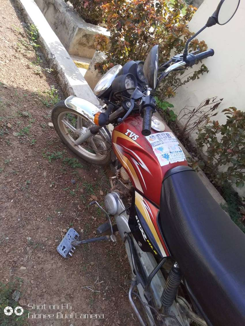 The motorcycle is in good working condition 0