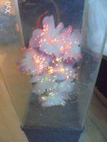 раритет пластмассовая декоративная лампа ссср