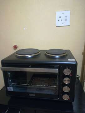 Defy 2 plate grill stove