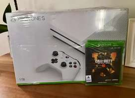 Xbox ONE S 1TB CONSOLE + Live 3 Months Sub Card + X1 Assassin's Creed