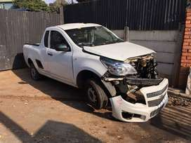 Chevrolet Utility 2017 White 1.4 Stripping for Used Spares Parts