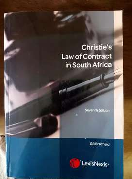 Christie's law of contract in south Africa