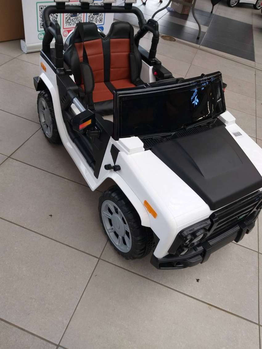 Land rover defender electric kids ride on car special