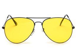 Okulary JAZDY nocą we mgle w deszczu żółte do samochodu