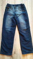 Spodnie jeans ocieplane dla dziecka