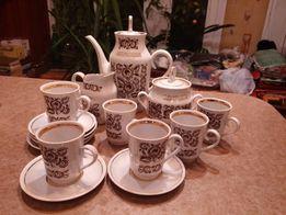 Кофейный сервиз на 6 персон СССР