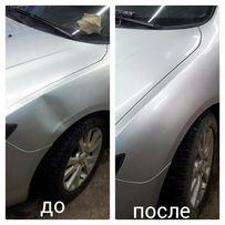 Удаление вмятин без покраски на Вашем авто