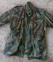 Kurtka żołnierza amerykańskiego z Wojny w Wietnamie