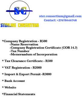 Company Registration & Tax Issues