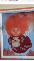 Картина вышитая бисером Ангелочек