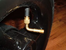 Adapter do pompowania kół wózka, końcówka, przejsciówka 90