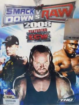 SmackDown vs raw 2008 featuring ECW