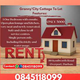 City cottage for rent. Are you searching perfect and safe place ?