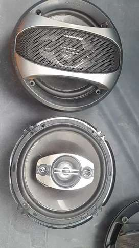 Pioneer 6 inch mids x4