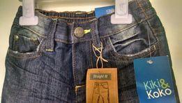 Нові джинси для хлопчика 104 розмір Crazy Dino