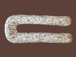 Подушка для вагітних беременных с наволочкой в комплекте