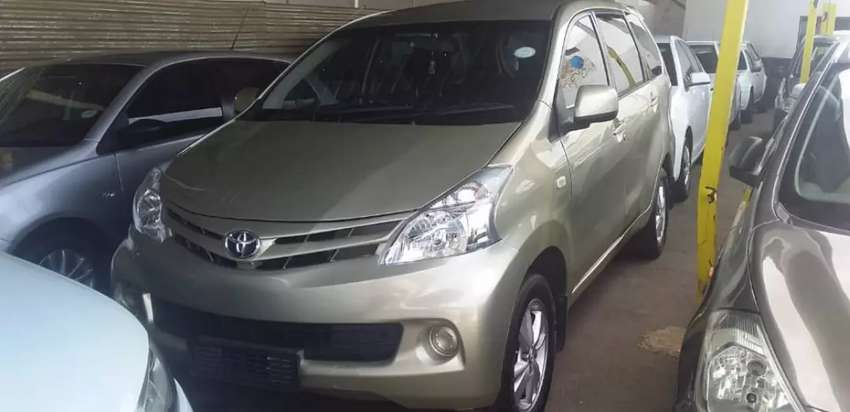 Toyota Avanza 1,5 2016 model is in good condition
