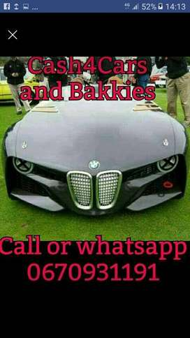 I'm looking to buy a good small used car SUV or bakkie