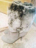 Женские зимние сапоги натуральные