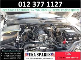 Jeep Grand Cherokee 5.7 WK 2005-10 used petrol engine parts for sale