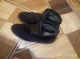 Продам мужские ботинки, замша натур, разм. 43-43.5