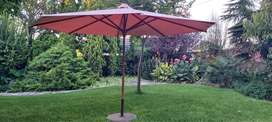 Umbrella Outdoor. 4m across