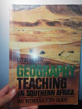 GEOGRAPHY TEACHING IN SOUTH AFRICA
