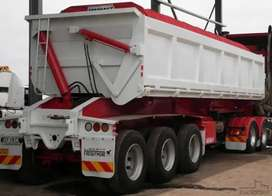 PLANT HIRE COMPANY FOR 34 TON SIDE TIPPER TRUCKS.