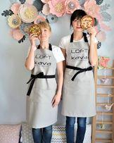 Фартук, как униформа или мода на кухне.