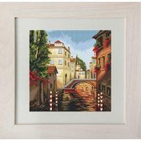 """Картина """"Венеция"""", вышитая крестом"""