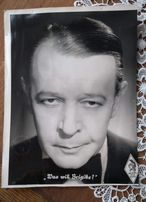 Zdjęcie Niemcy, swastyka, Wrona, duży format 22x29cm,aktor niemcy
