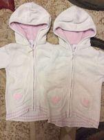 Продам х/б кофты для двойни двойняшек близняшек размер 92