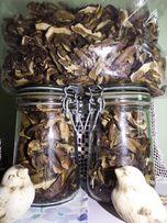 Suszone grzyby - podgrzybki