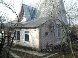 Продам участок с домом с. Большая Снетинка,фастовский-район