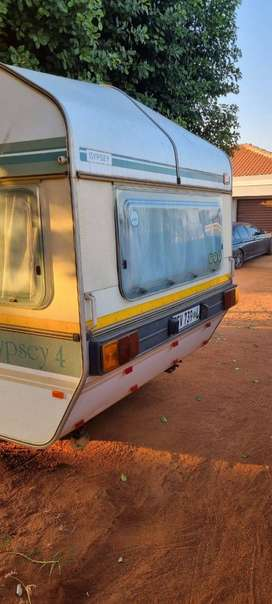 The Caravan is still in a good condition