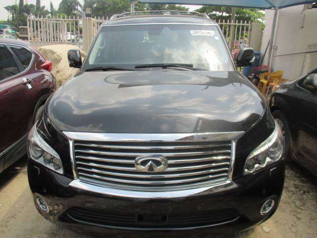 Extremely clean Infiniti QX80 2014. Tokunbo 0